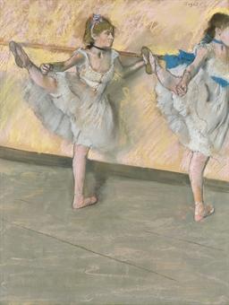 Edgar Degas - Danseuses à la barre