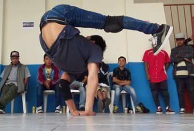 foto di danza acrobatica