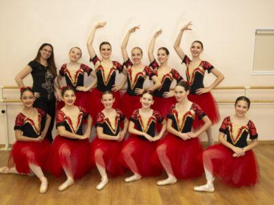 La classe di danza classica secondo corso