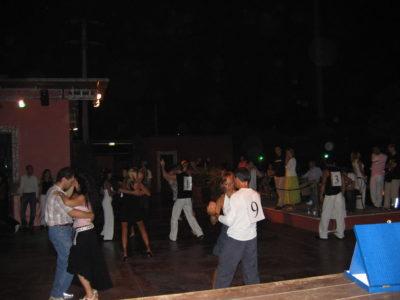 I semifinalisti sale trofeo salsa cubana a Roma