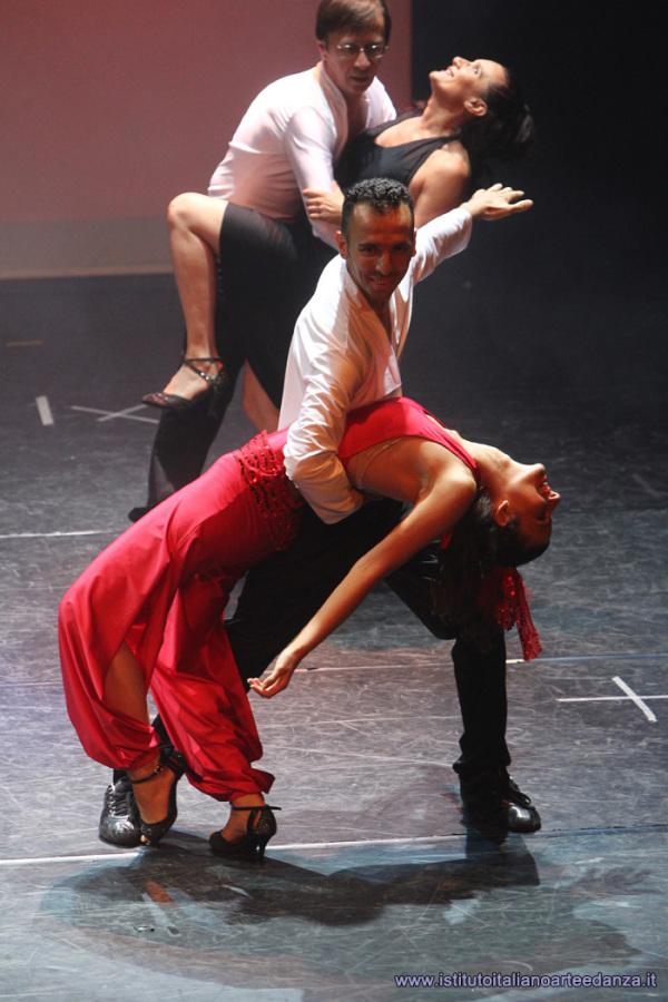 Casquet nel tango argentino