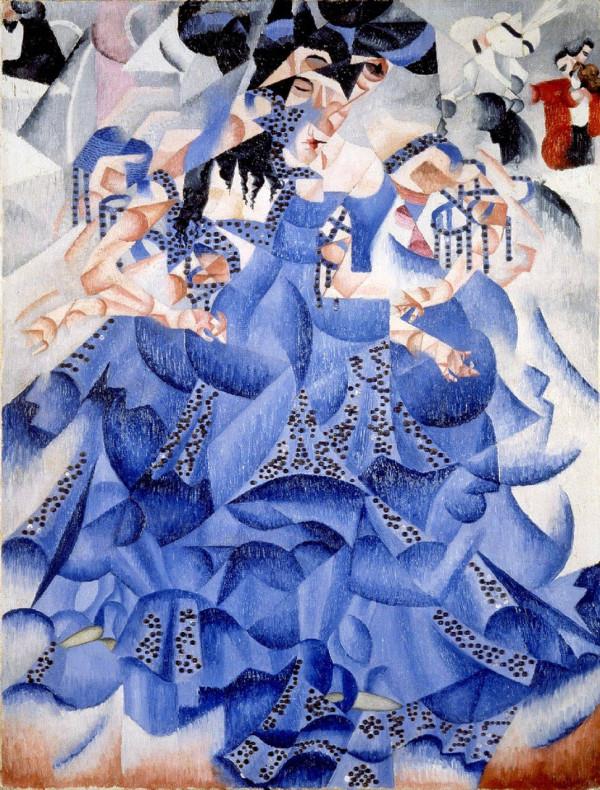 Ballerina-blu-severini