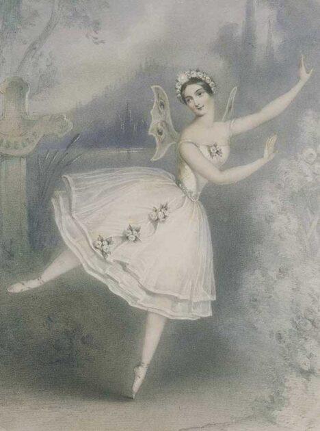 Carlotta Grisi interpreta 'Giselle', 1841 - 1842.