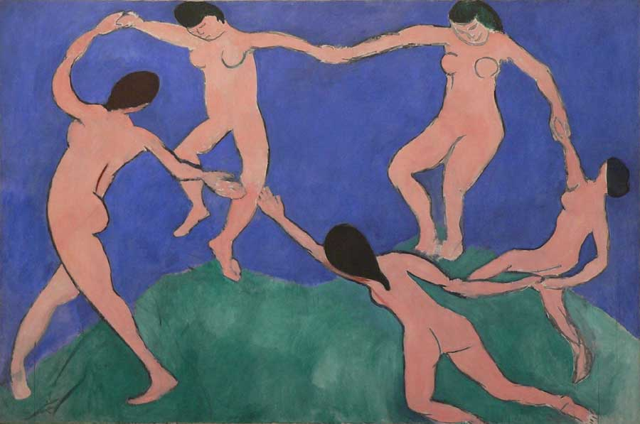 La danse - Matisse - 1909
