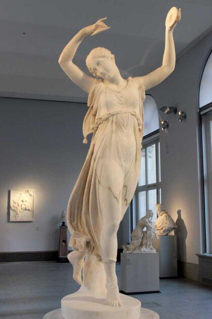 Danzatrice con cembali - Canova
