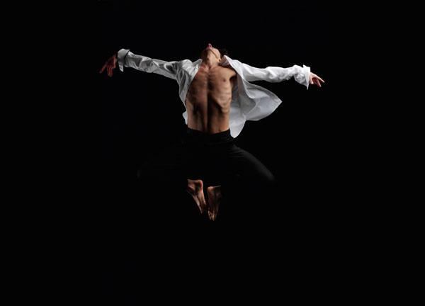 ballerino di danza contemporanea