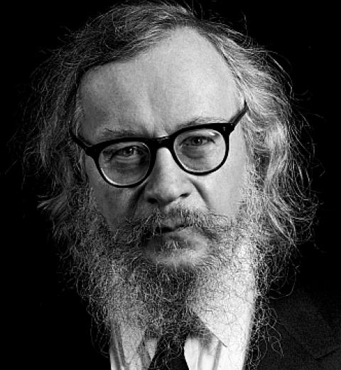 Il regista teatrale Grotowski