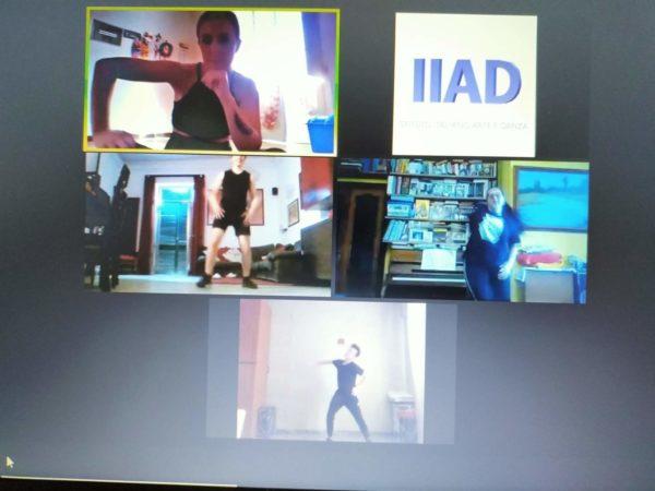 classe virtuale online di hip hop