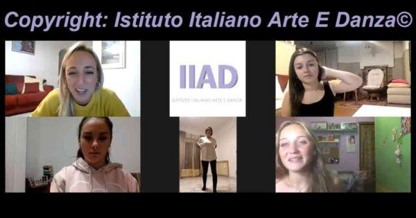 6 allieve del corso online di teatro per ragazzi