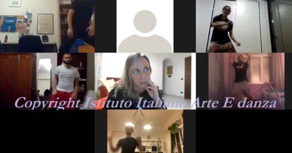 lezione di ballo hip hop online dello IIAD online